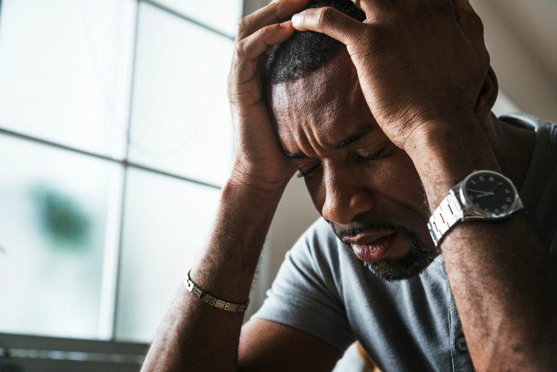Tidiga tecken på utmattningsdepression