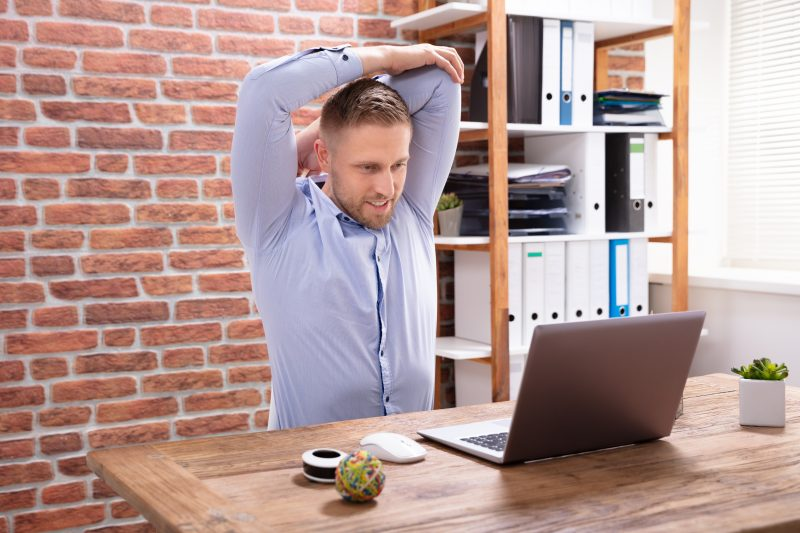 avslappningsövningar du kan utföra när du jobbar hemma