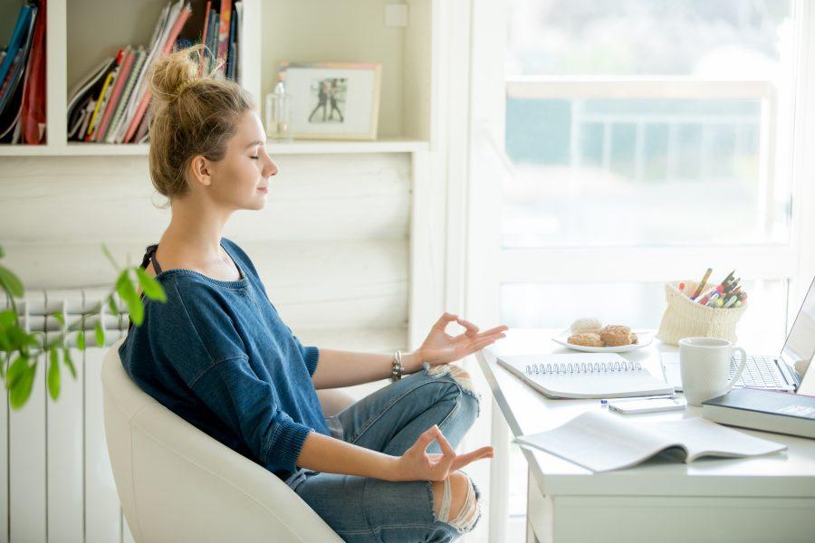 mindfulnessövningar för att motverka stress